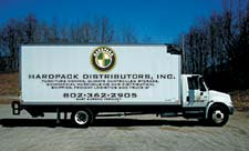 Hardpack moving truck